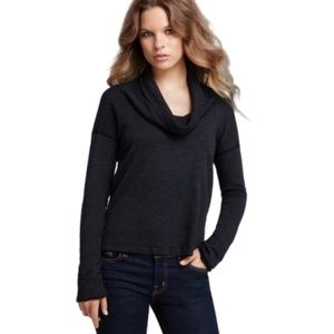 Standard James Perse Long Sleeve Cowl Neck Large